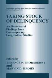 Taking Stock of Delinquency by Terence P. Thornberry