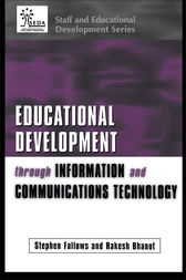 Educational Development Through Information and Communications Technology by Rakesh Bhanot
