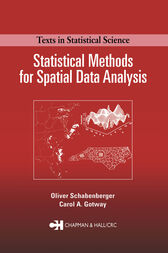 Statistical Methods for Spatial Data Analysis by Oliver Schabenberger
