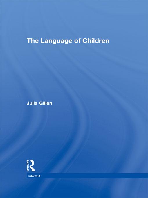 Download Ebook The Language of Children by Julia Gillen Pdf