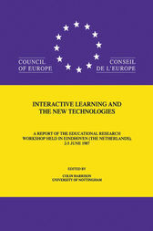 Interactive Learning & The New by C. Harrison