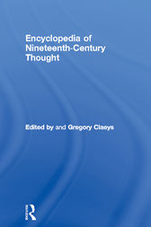Encyclopedia of Nineteenth Century Thought by Gregory Claeys