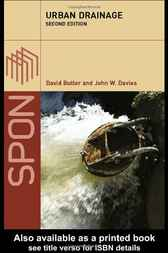 Urban Drainage, Second Edition by David Butler