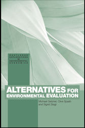 Alternatives for Environmental Valuation by Michael Getzner