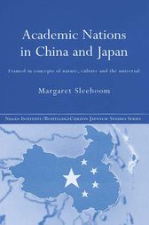 Academic Nations in China and Japan by Margaret Sleeboom
