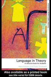 Language in Theory by Mark Robson