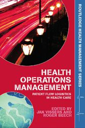 Health Operations Management by Jan Vissers