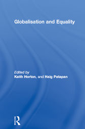 Globalisation and Equality by Keith Horton