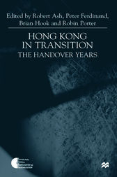 Hong Kong in Transition by Robert Ash