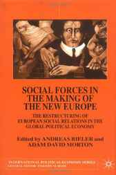 Social Forces in the Making of New Europe by Andreas Bieler