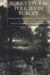Agricultural Policies in Europe and the USA by Antonio Piccinini