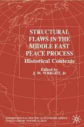 Structural Flaws in the Middle East Process by J. W. Wright Jr