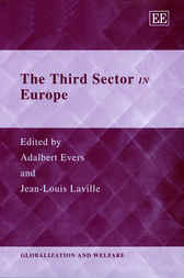 The Third Sector in Europe by Adalbert Evers