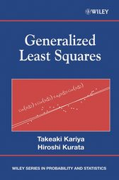 Generalized Least Squares by Takeaki Kariya
