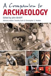 A Companion to Archaeology by John Bintliff