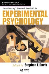 Handbook of Research Methods in Experimental Psychology by Stephen F. Davis