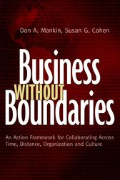 Business Without Boundaries by Don Mankin