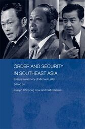 Order and Security in Southeast Asia by Ralf Emmers