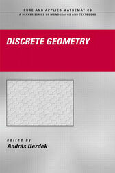 Discrete Geometry by Andras Bezdek