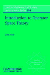 Introduction to Operator Space Theory by Gilles Pisier