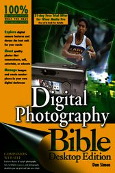 Digital Photography Bible by Dan Simon