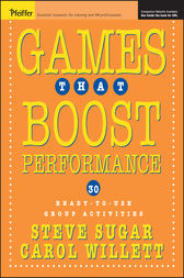 Games That Boost Performance by Steve Sugar