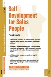 Self Development for Sales People by Patrick Forsyth