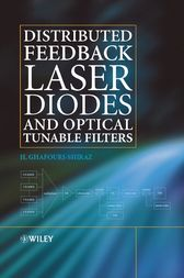 Distributed Feedback Laser Diodes and Optical Tunable Filters by H. Ghafouri-Shiraz