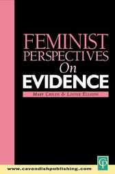 Feminist Perspectives on Evidence by Mary Childs