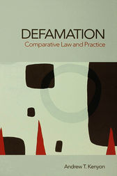 Defamation by Andrew Kenyon