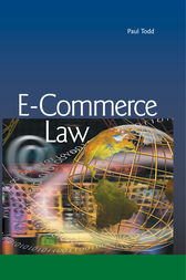 E-Commerce Law by Paul Todd