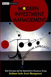 Modern Investment Management by Bob Litterman