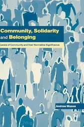 Community, Solidarity and Belonging by Andrew Mason