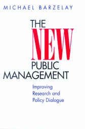 The New Public Management by Michael Barzelay