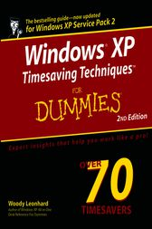 Windows XP Timesaving Techniques For Dummies by Woody Leonhard