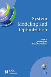 System Modeling and Optimization by John Cagnol