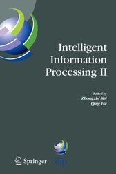 Intelligent Information Processing II by Qing He