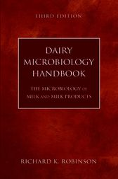 Dairy Microbiology Handbook by Richard K. Robinson