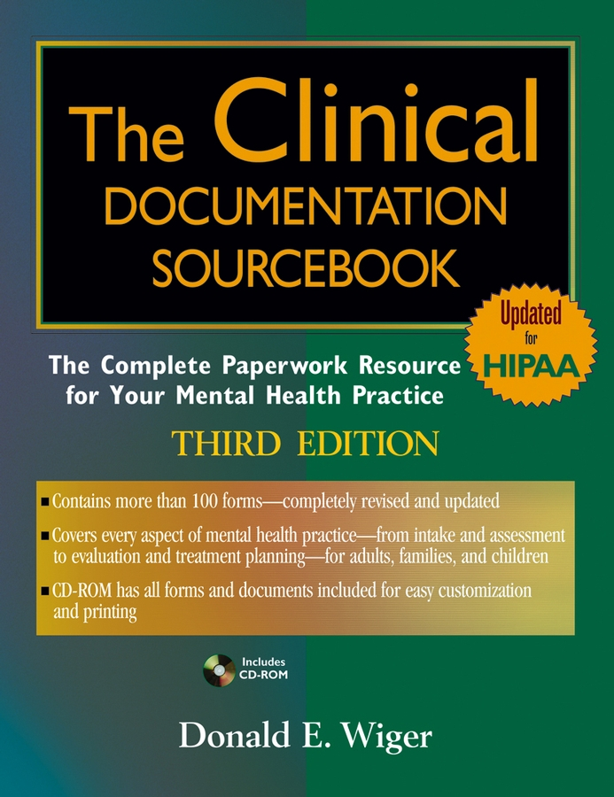 Download Ebook The Clinical Documentation Sourcebook (3rd ed.) by Donald E. Wiger Pdf