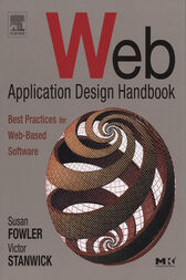 Web Application Design Handbook by Susan Fowler