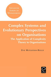 Complex Systems and Evolutionary Perspectives on Organisations by unknown