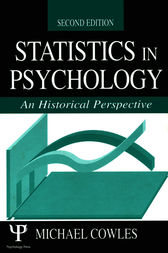 Statistics in Psychology by Michael Cowles