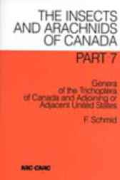 Genera of the Trichoptera of Canada and Adjoining or Adjacent United States by F. Schmid