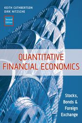 Quantitative Financial Economics by Keith Cuthbertson