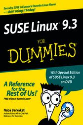 SUSE Linux 9.3 For Dummies by Naba Barkakati