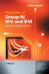 Properties of Group-IV, III-V and II-VI Semiconductors by Sadao Adachi