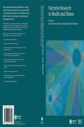 Narrative Research in Health and Illness by Brian Hurwitz