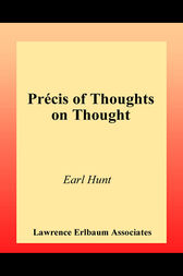 Thoughts on Thought by Earl Hunt