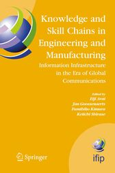 Knowledge and Skill Chains in Engineering and Manufacturing by Eiji Arai