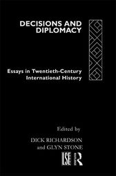 Decisions and Diplomacy by Dick Richardson